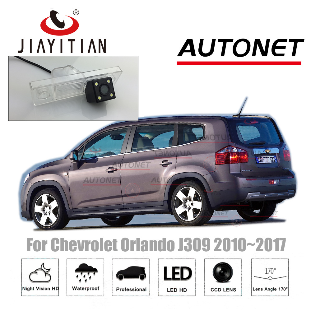 JiaYiTian rear camera For Chevrolet Orlando J309 2010~20171TH CCD/Night Vision/Backup Camera/Reverse Camera license plate Camera jiayitian rear camera for chevrolet orlando 2010 2017 ccd night vision backup camera reverse camera parking license plate camera