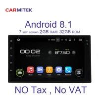 2 ГБ DDR 32 ГБ Android 8,1 автомобильный dvd плеер gps навигатор мультимедиа для nissan qashqai x trail Универсальный Авторадио
