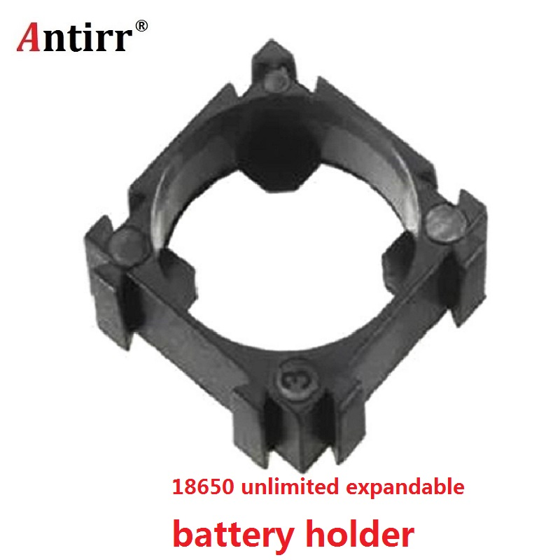 <font><b>18650</b></font> <font><b>battery</b></font> <font><b>holder</b></font> <font><b>Cylindrical</b></font> <font><b>battery</b></font> <font><b>bracket</b></font> <font><b>18650</b></font> li-ion cell 1P <font><b>holder</b></font> <font><b>18650</b></font> <font><b>batteries</b></font> fixture diameter 18.4mm image