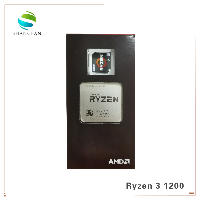 New AMD Ryzen 3 1200 R3 1200 3.1 GHz Quad-Core Quad-Thread CPU Processor YD1200BBM4KAE Socket AM4