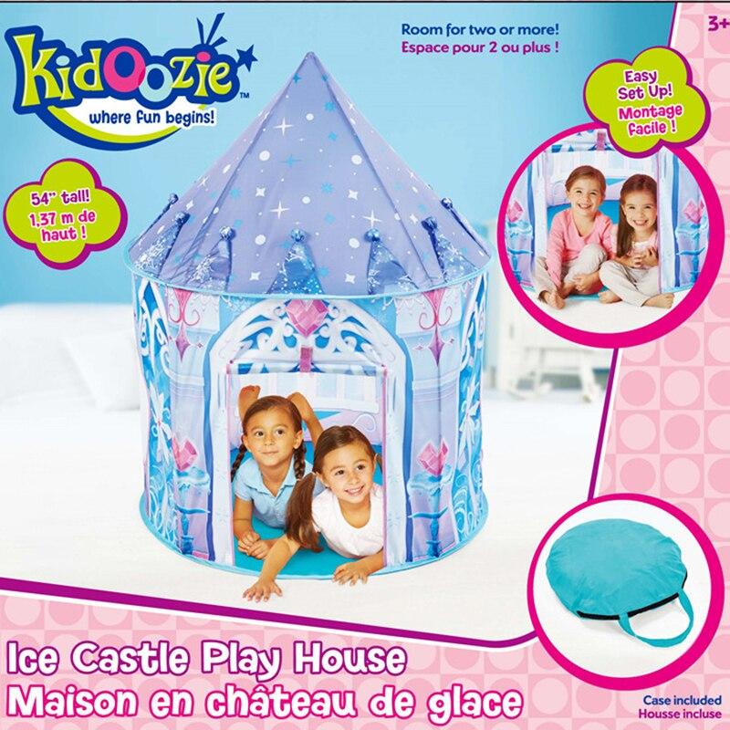 2017 Top Sell Kids Play Tent Juego de niños Casa Ice Princess Tent - Deportes y aire libre - foto 2