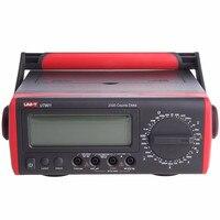 UNI T UT801 ЖК дисплей Bench Тип Цифровые мультиметры 1000 В 10A Вольт Ампер Ом Емкость Гц Тестер высокой точности