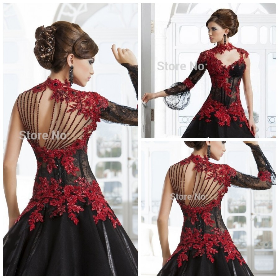 black and red lace wedding dresses red lace wedding dress black and red lace wedding dresses uvED
