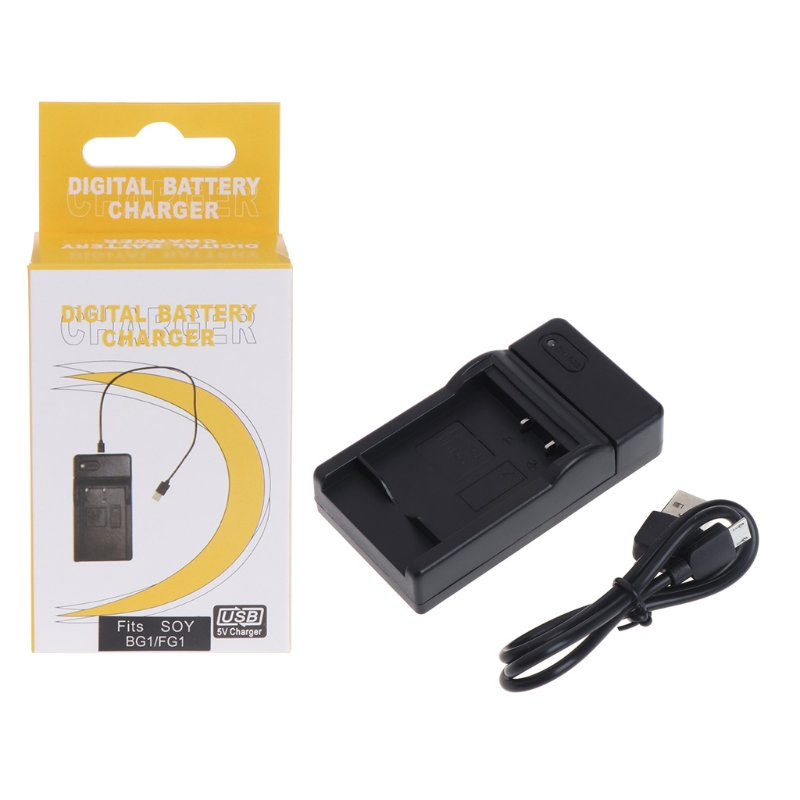 NP-BG1 USB Battery Charger For Sony CyberShot DSC-HX30V DSC-HX20V DSC-HX10V