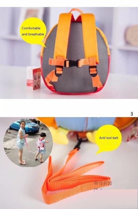 Anti verlorene Harness Leine Rucksack für Kinder Engel Design Kleinkind zu