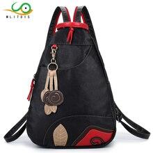 Mlitdis нейлон двойная молния рюкзак старинные рюкзак ноутбук женский подростков школьная Рюкзаки дорожная сумка для девочек повседневные La Mochila