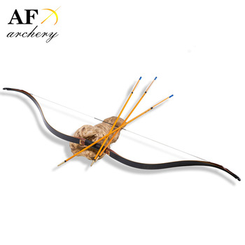 20-55# Ming Small Tip Bow Archery Handmade Laminated Bow Recurve Bow for Hunting and Shooting