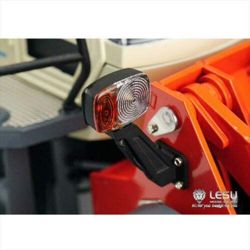 LESU LED Front Light Headlamp for 1//15 RC Hydraulic Loader Model DIY Truck Car