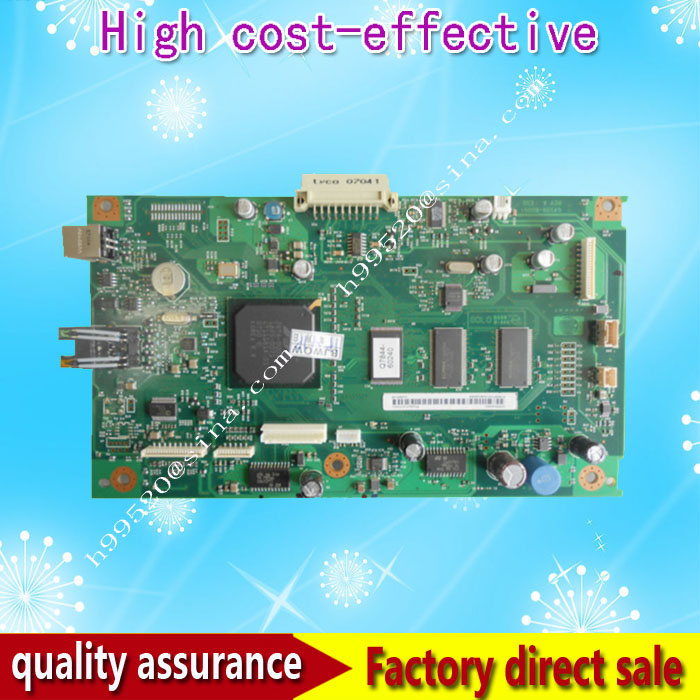 Original Formatter board for HP LJ 3052 Q7528-60001 logic Main Board MainBoard mother board free shipping original c5f94 60001 formatter board for hp lj pro m402dn m402dw m403dn 403dw mainboard main board logic board