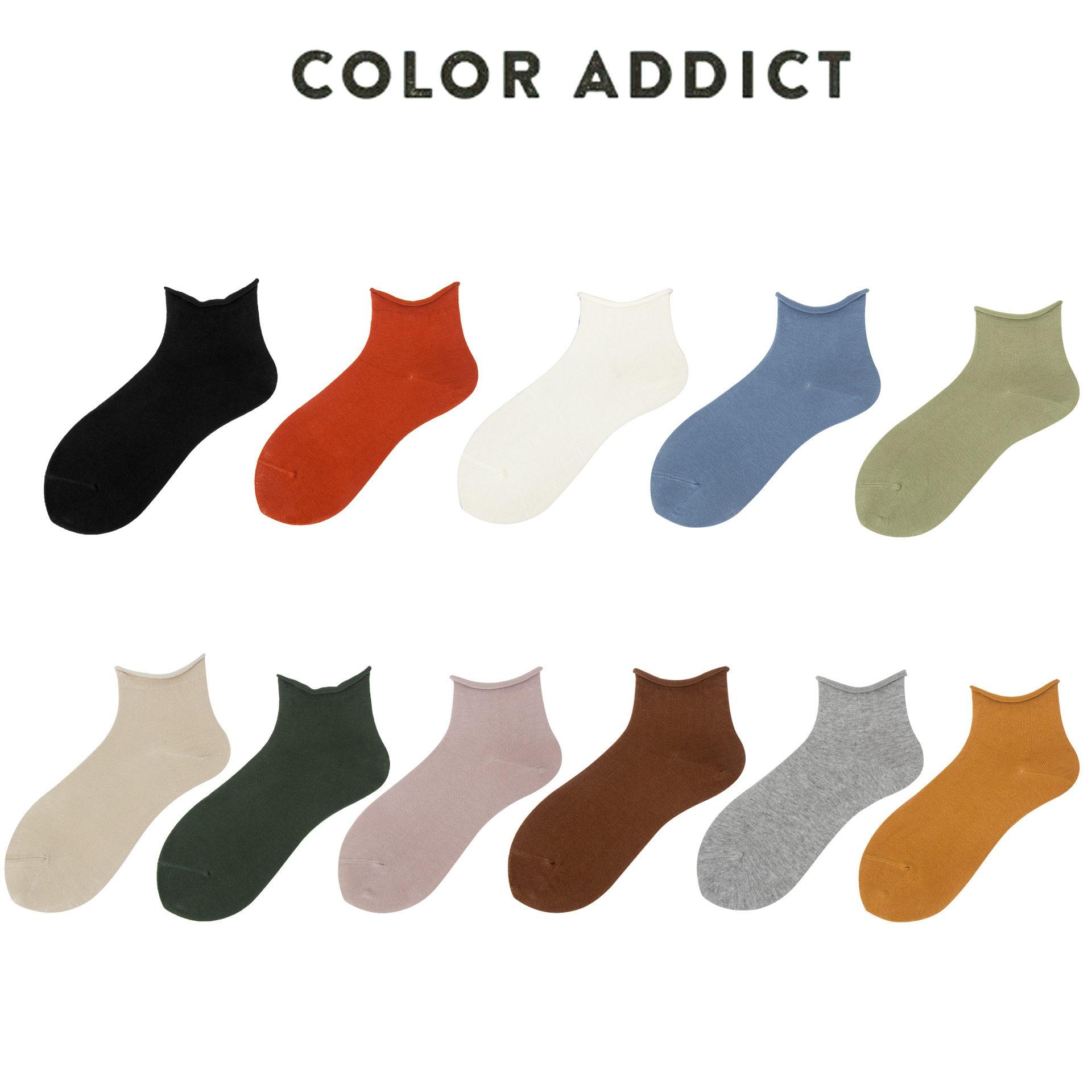 Women Socks 2019 New Fashion 1 Pair Ankle Socks Girls Cotton Solid Color Candy Casual Breathable Socks Women Fashion Socks Lady