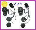 2* intercom motorcycle headset UP to 500M/800M >motorcycle helmet intercom headset,+bluetooth +GPS+MP3+strong waterproof