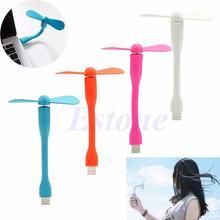 Creative Usb Gadget Portable Flexible USB Mini Cooling Fan For Xiaomi Laptop Notebook Desktop Computer Summer