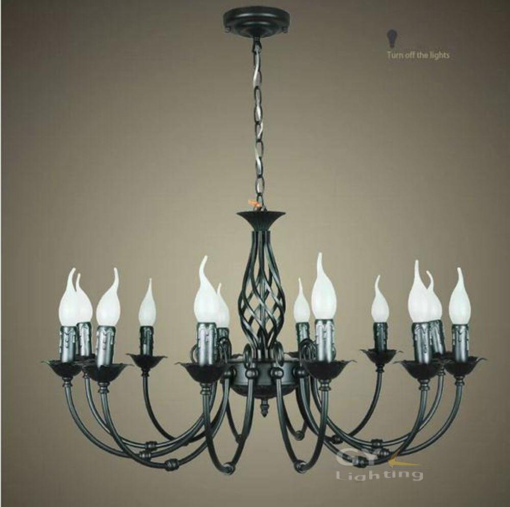 Ветка черного дерева люстра Лофт новые светильники черная гостиная столовая лампы светильник pelucia блеск декоративные - 2