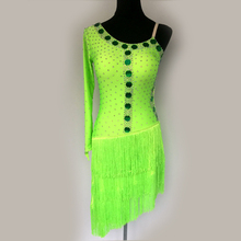 New style Latin dance costume sexy senior sequins tassel latin dance dress for women latin dance compeititon dresses S-4XL