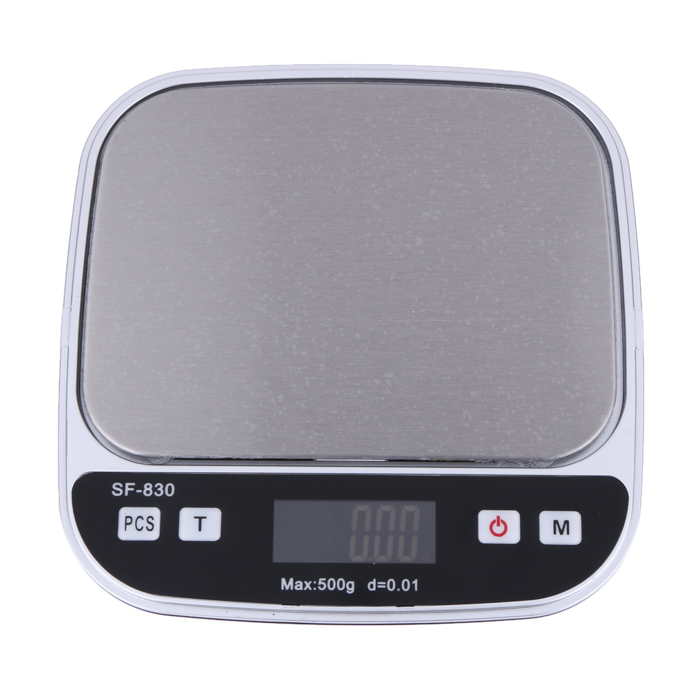 Pocket Electronic Digital Scale 0.01g/500g LCD Display Precision Jewelry Diamond Kitchen Scale Weight Scale  цены