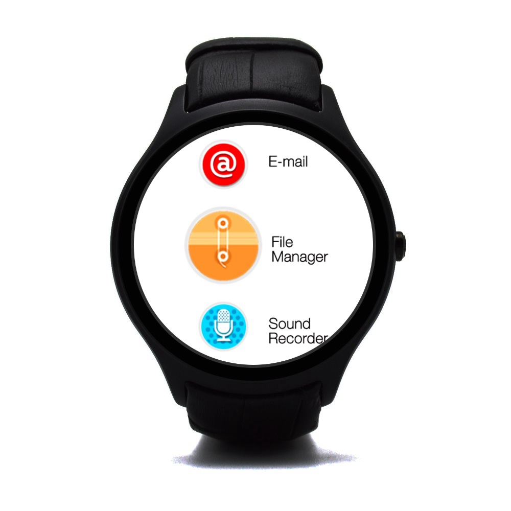 360 360 Pixels Smart Watch Android Phone ZW57 Heartrate Health Monitor With SIM Memory Card Bluetooth