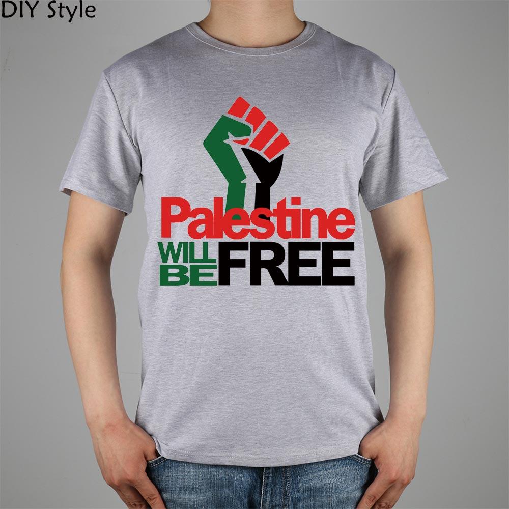 PALESTINE LIBERARÁ hombres palestinos camiseta de manga corta 2078 - Ropa de hombre - foto 1