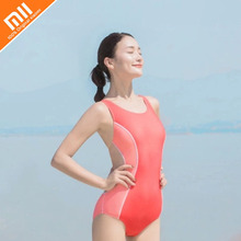 2019 Xiaomi Ladies Triangle One-piece Swimsuit Professional Female Skirt Womens Training