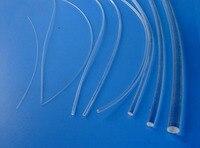 100mx оптовая продажа сторона свечение pmma волоконно-оптический кабель диаметром 2/3/5/6 мм прозрачный твердый сердечник оптический кабель Экспр...