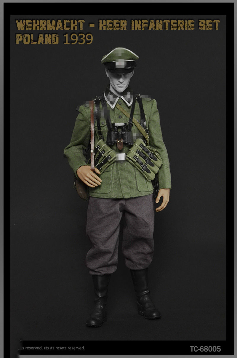 1/6 WWII German Wehrmacht Heer Infanterie Suit Clothes Poland 1939 For 12 Figure Body world war ii german wwii wehrmacht officer 1 6 soldier set model stanford erich vo gm637 for gift collection