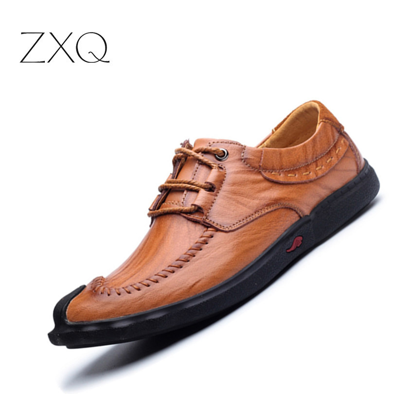 2017 Genuine Leather Shoes Men Casual Shoes Comfort Driving Loafers For Men Flats Shoes Slip On Shoes Size 38-44 1 4 20 5 16 18 3 8 16 unc screw thread round die tools 3 pcs
