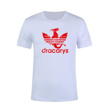 Dracarys Men WomenT Shirt Game of Thrones Daenerys T-Shirt Mother of Dragon Harajuku Vintage Style Printed Casual T-Shirt цена и фото