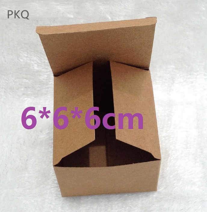 20pcs 13 Size Craft Paper Gift Box Square Kraft Paper Box With Lid For Packaging Diy Handmade Soap White Packing Cardboard Boxes