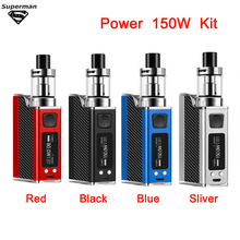 SUB TWO 150w Box Mod VAPE Kit 1500mAh Build In Battery With 2.0ml Tank Electronic Cigarette Huge Vape Vaporizer Cigarette Vapor недорого