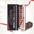 Multi-cor da sombra de maquiagem paleta naked natural long-lasting pérola fosco sombra de olho maquiagem cosméticos maquiagem sombra rosa