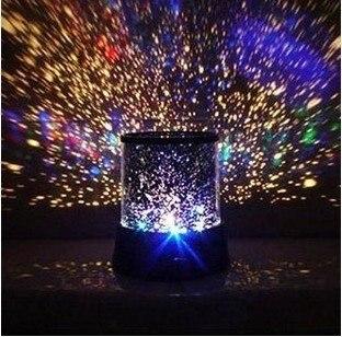 2018 echt Lava Lampe Nacht Yang Stern der Projektion Lampe Neue Romantische Bunte Cosmos Master Led Projektor