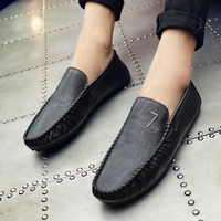 Summer Breathable Casual Shoes Men Fashion Comfortable Slip on Leather Tenis Masculino Adulto Loafers Man Shoes Krasovki Zapatos