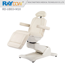 RD-UB03+M10 Raydow Spa Salon Equipment White Leather Multi-purpose Salon Chair massage table(China)