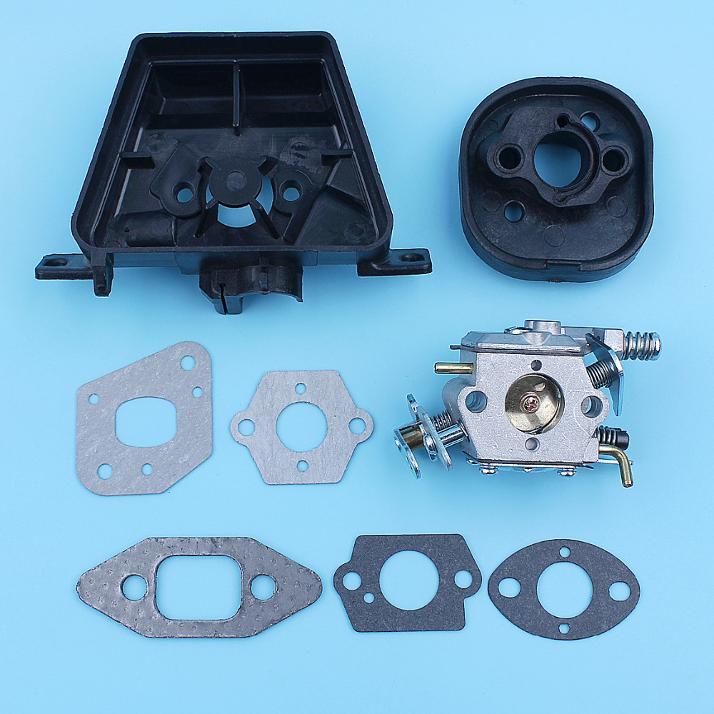 Carburetor Carb Carby Inlet Manifold Gasket Kit For Partner 350 351 370 371 420 Chainsaw Walbro 33-29 Spare Part Replacement