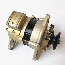 Небольшой бытовой шкив колеса постоянного магнита постоянного напряжения 220V800w генератор совершенно Чистая медь