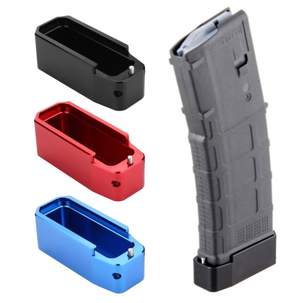.223 5.56 Tactical PMAG Magazine Extension M4 AR15 PMAG Base Pad Hunting accessories image