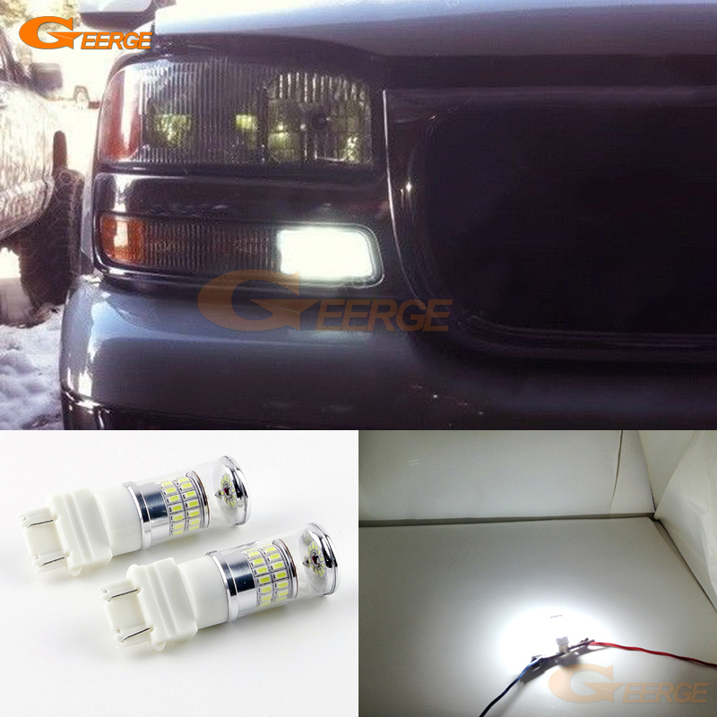 For Chevrolet Colorado 2006 2007 2008 2009 2010 2011 2012 Excellent Ultra bright White Reflector 3157 LED Bulbs Daytime DRL шлепанцы souls шлепанцы