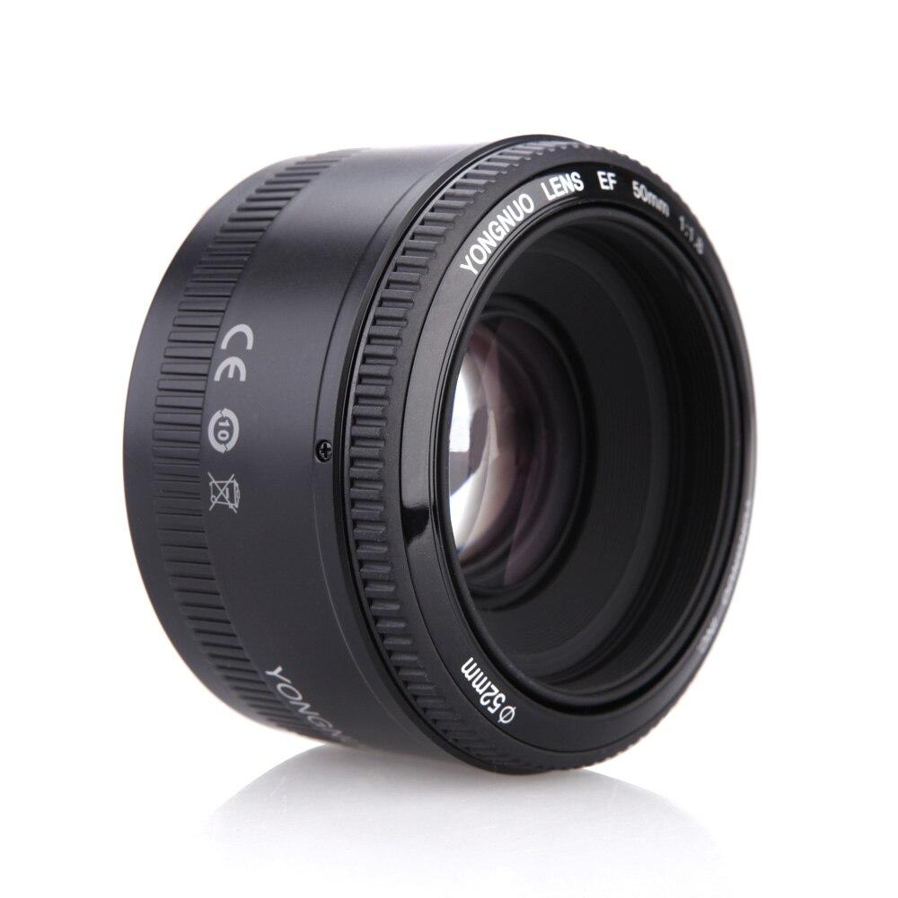 Image 3 - 4pcs/6pcs YONGNUO Lens YN50mm f1.8 YN EF 50mm YN50 Aperture AF Lens for Canon EOS 60D 70D 5D2 5D3 600d Camera DropshippingCamera Lens   -