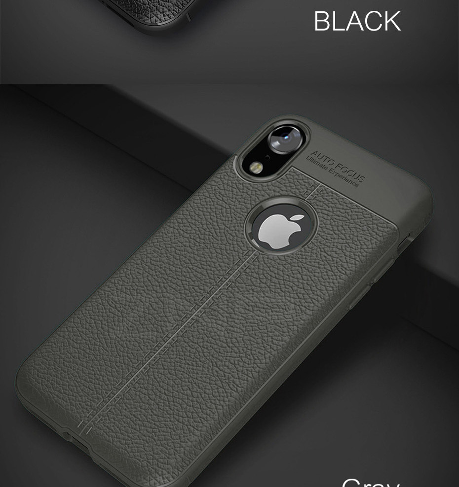 HTB19FO5dY2pK1RjSZFsq6yNlXXaP - ZNP Luxury Shockproof Matte Cover For iPhone 6 7 8 Plus 6s Case Leather Carbon Fiber Leather For iPhone X XR XS Max Phone Case