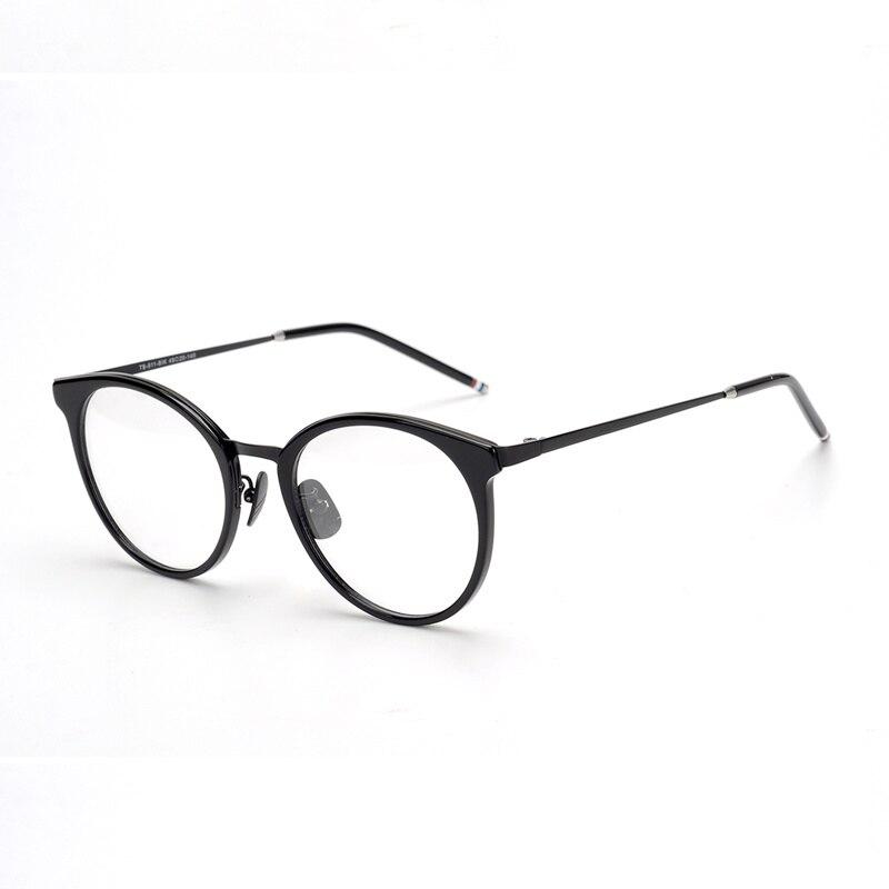 Hand-made Retro Metal frame TB911 eyeglasses glasses frame myopia reading eye glasses with original package eyewear Oculos
