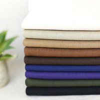 Thick Canvas Fabric Solid Colored Canvas Cloth Material For Sewing Sofa Cover Cushion Pillow Bag Shoes