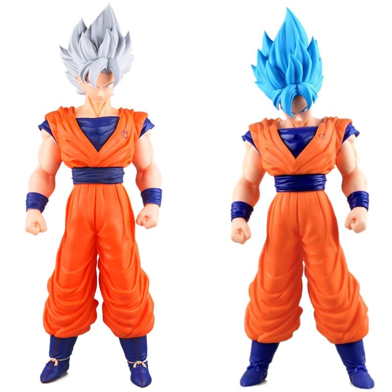 Anime cartoon Dragon Ball Z 42cm Son Goku figurine Super Saiyan dragonball z juguetes Action Figure dbz Kakarotto hot toys dolls