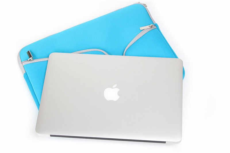 المحمولة 11,12 ، 13,14 15.6 بوصة العالمي محمول ultrabook محمول كم حالة الجلد حقيبة و ل macbook air pro النساء الرجال