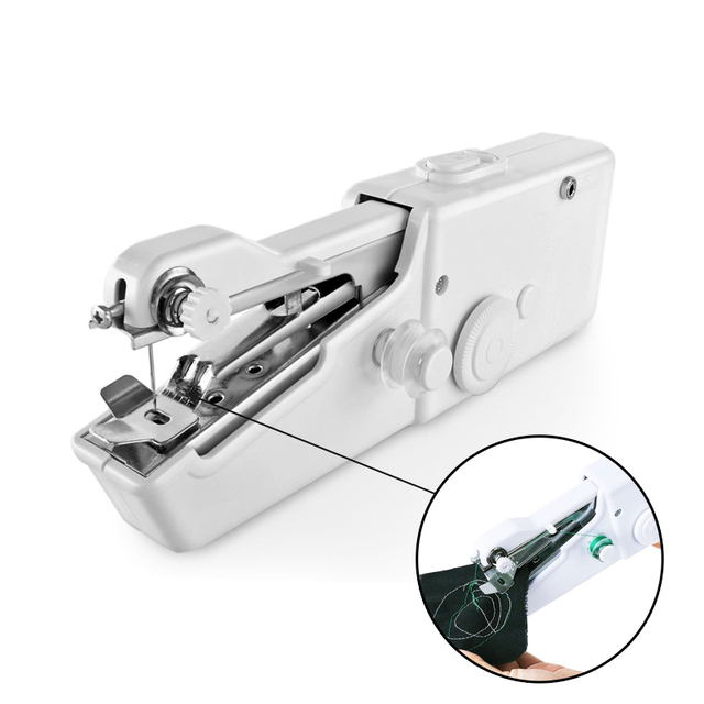 40 Handheld Sewing Machine Portable Needlework Cordless Household Unique Handy Stitch Portable Sewing Machine