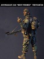 스케일 모델 1/35 호주 SAS 새해 베트남 1945 군인 그림 역사적 차 세계