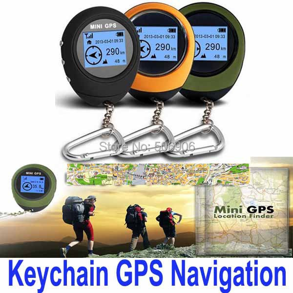 Big discount Portable Mini Handheld Keychain Outdoor Sport Travel GPS Navigation, Free Shipping