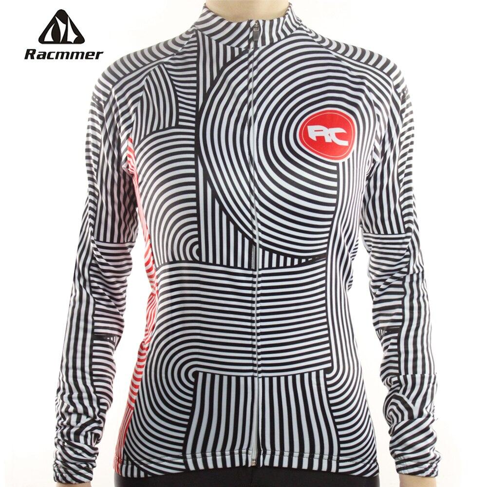 Цена за Racmmer 2017 С Длинным Рукавом Pro Cycling Трикотажные Женщины Clothing Велосипед Майо Equipacion Ciclismo Спортивная Одежда Велосипед Одежда # NL 06
