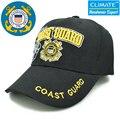 США Всемирно Известный Береговой Охраны армии поклонников единые Регулируемый Черный Цвет Бейсболки Hat Для Взрослых Вкрутую Мужчины