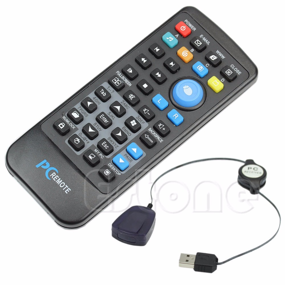 a66ec4c41ef USB Laptop PC Wireless Media Remote Control Mouse Keyboard Center  Controller ~ Super Deal June 2019