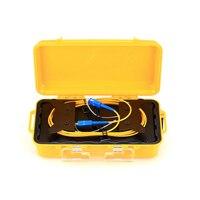 SC UPC Single Mode 9/125um 1310/1550nm 1KM OTDR Fiber optic launch cable box Application FTTH FTTB FTTX Network