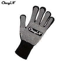 CkeyiN Professional Heat Resistant Glove Durable Heat-proof Anti-scald Cotton Yarn Glove For Hair Curling Flat Iron Curler P49